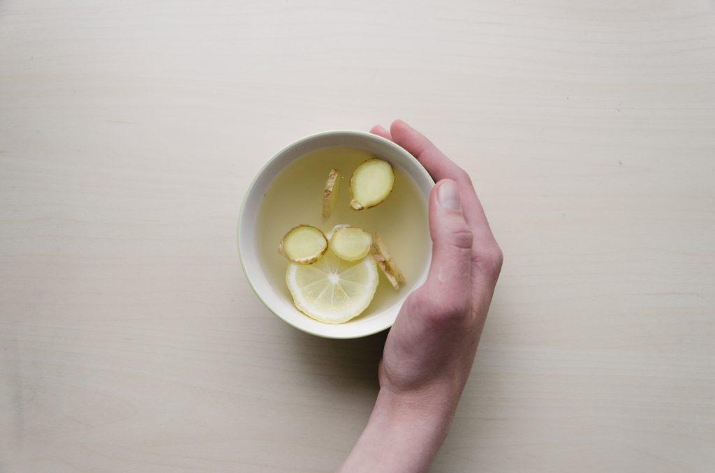 napój rozgrzewający imbir