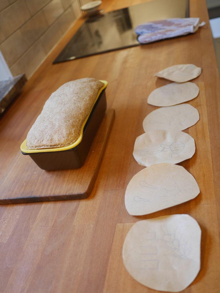 chleb razowy pieczenie w domu